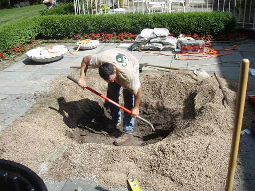 how to make a pondless water feature
