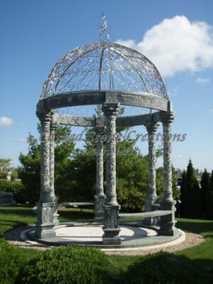 Grape Column Gazebo w/ SS