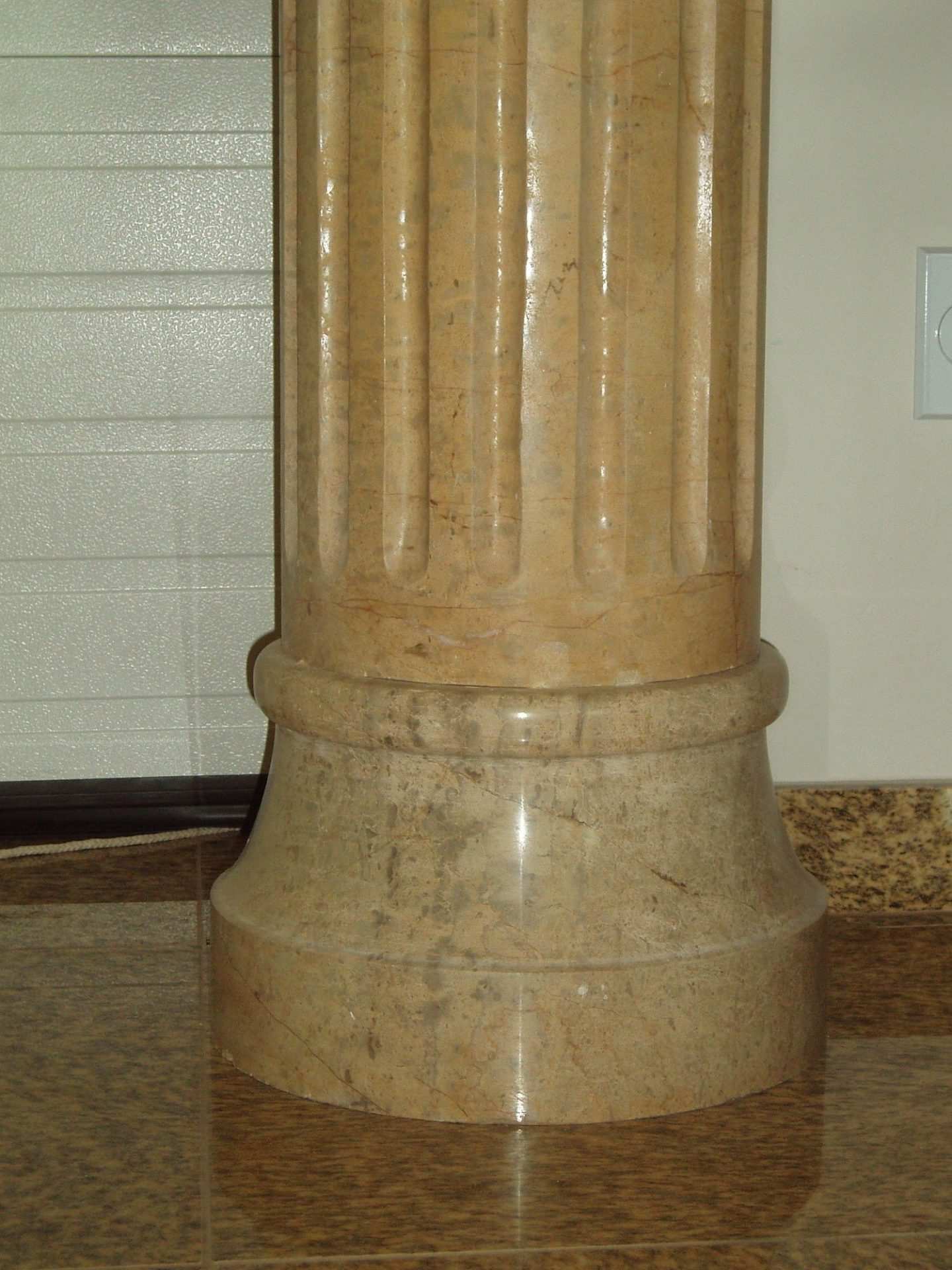 Beige Venato Marble Fluted Tuscan Column 8 10 Quot Carved