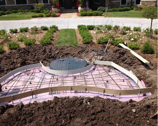 Reinforced Concrete Form
