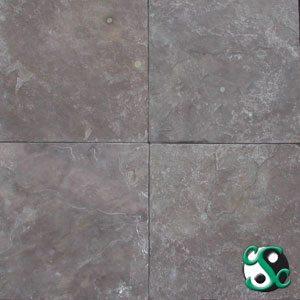 12×12 Burnt Sienna Slate Tumbled Tile
