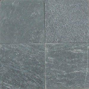 16×16 Black Diamond Quartzite Natural Cleft Tile