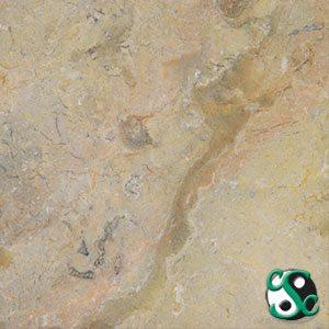 18×18 Sahara Gold Marble Polished Tile