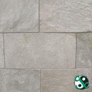 12×12 Tahitian Pearl Quartzite Natural Cleft Tile
