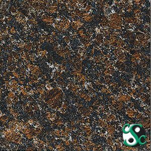 Tan Brown Polished Granite Sample