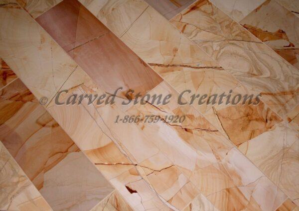 24×24 Teakwood Marble Polished Tile