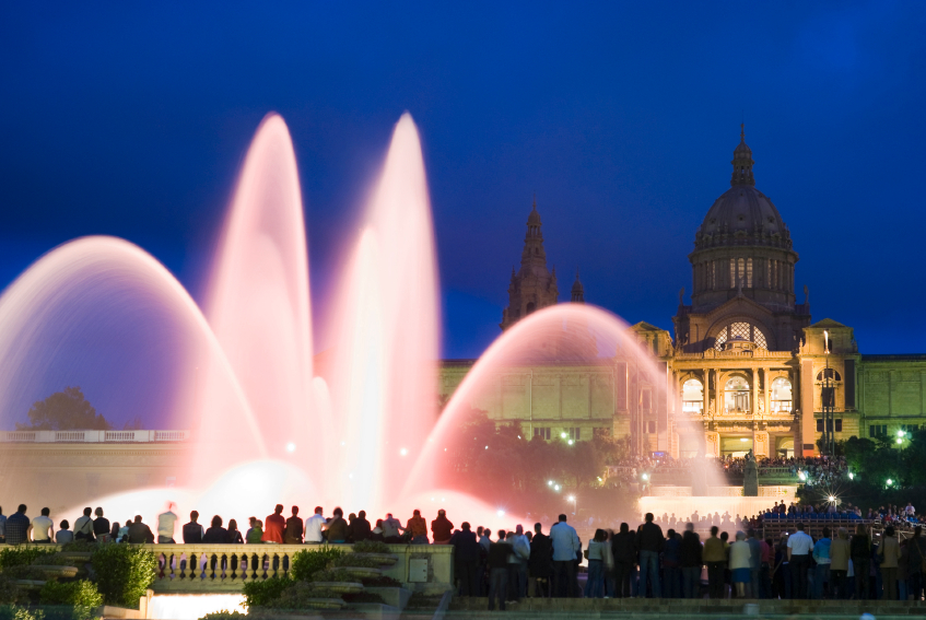 The Montjuic Magic Fountain