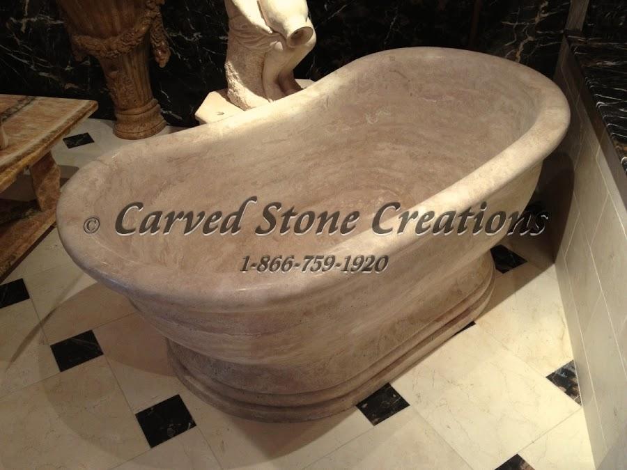 Natural Stone Soaking Tub