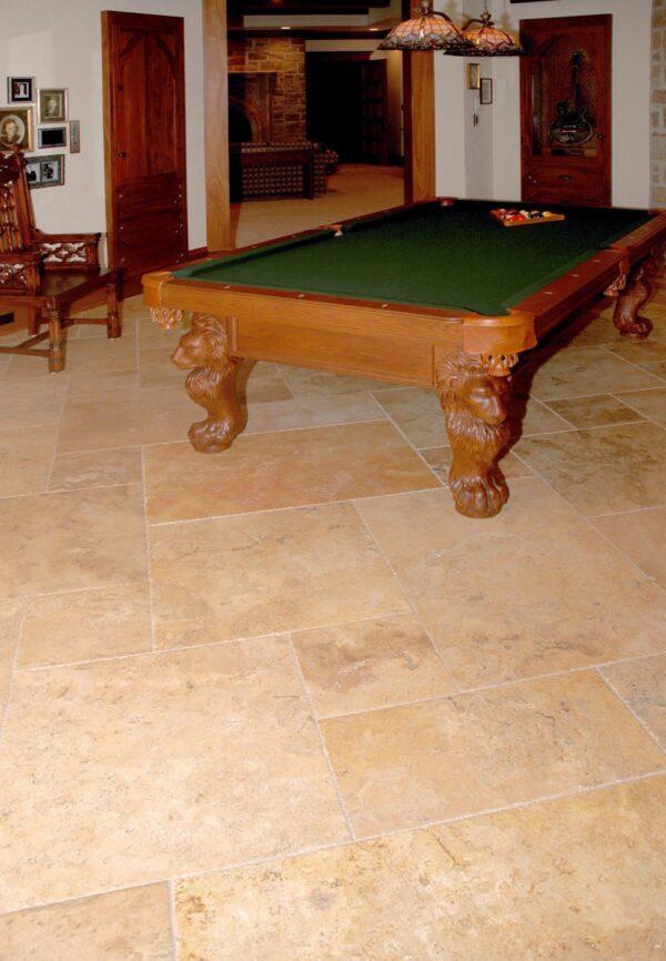 Palatial Versailles Travertine Flooring - Golden Orient