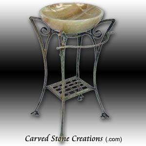 Elegante Pedestal Vessel Stand