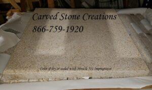 24x24x1.5 Pavers, Giallo Fantasia Y Granite
