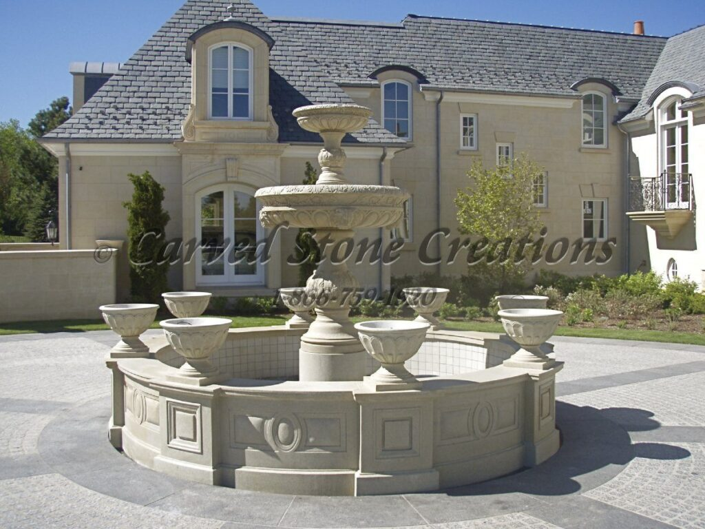 Granite fountain