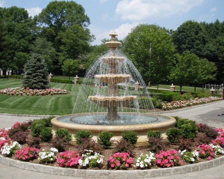 Rolling Ring Large outdoor water Fountain