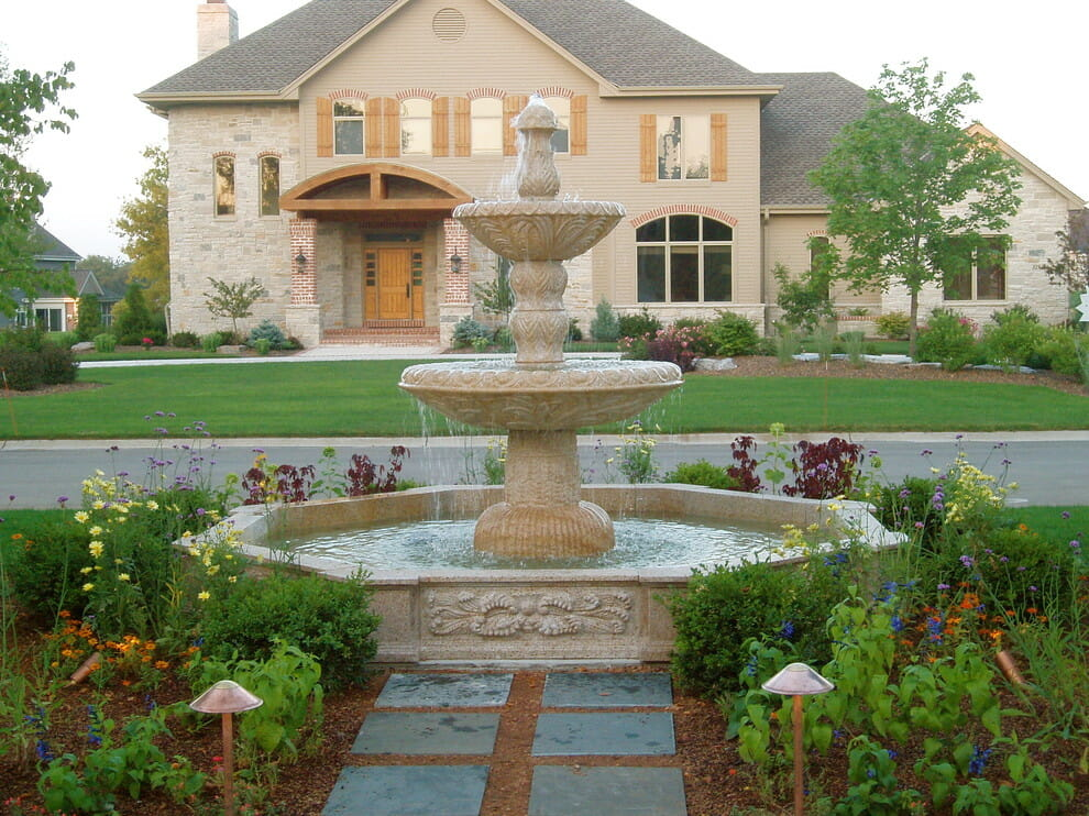 Natural Stone Fountain for Home