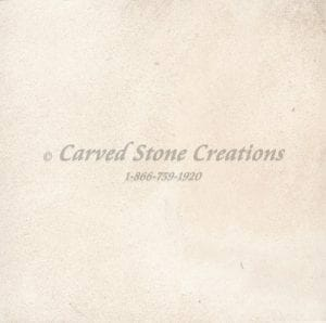 Sesame White Limestone Sample